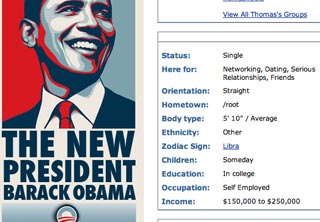 New Barack Obama Layouts - click image for code